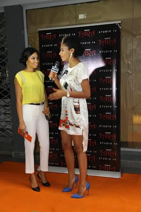 Anna Ebiere Banner, MBGN 2013 interviewed by Spice TV