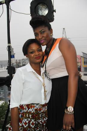 Nollywood Actress Ufuoma McDermot and I