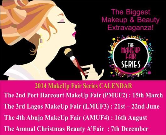 The Makeup Fair Series 2014