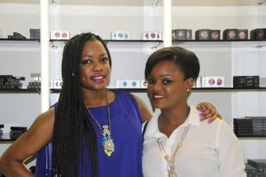 with Arese Ugwu (one of the H.O.T Board of directors (who has a Tara lipstick named after her)