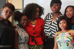 From 2nd left-Yemisi N'Sure, Love Flawless Touch International,Chichi Faceville,Dami Melys Makeovers,