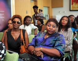 Jagabeauty Studio PR strategist- Rema Ezeka wearing sunglasses inside?!!