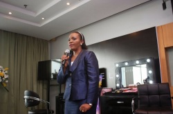 Mrs Bukola Balogun (The Brand Manager Maybelline Nigeria)