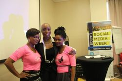 With Eryca Freemantle facilitator, SMWBeauty-day 4
