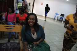 Yep Kiky Idoko was there too (My Sister)