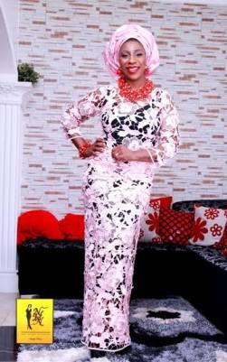 Aso-ebi Style by NHN Couture- Makeup and Gele by Jagabeauty
