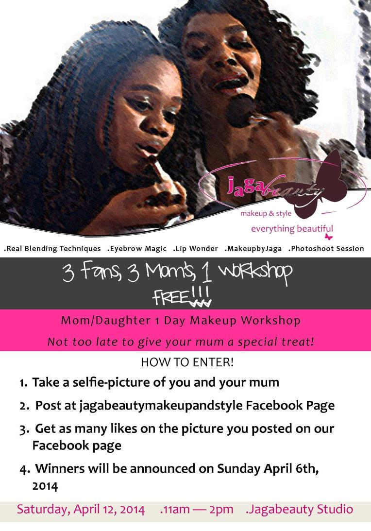 Jagabeauty-Free -Mom-and-Daughter-Workshop