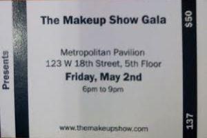 The Makeup Show New York, Gala
