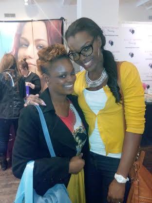 With Stella's Addiction (Nigerian MUA & Beauty blogger)