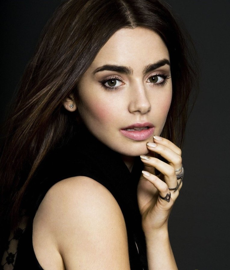 Actress Lily Collins is a contributor to the recent eyebrow craze
