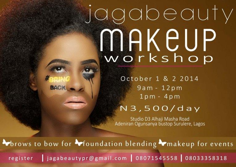 Jagabeauty Makeup Workshop