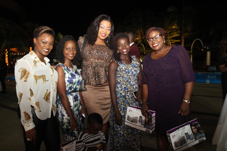 Fellow Makeup Artists and Bloggers L-R: Me, Omobola of Glam o'sphere, Chioma of Topnotch, Yemisi of Missykona and Omolola of Pops Concept