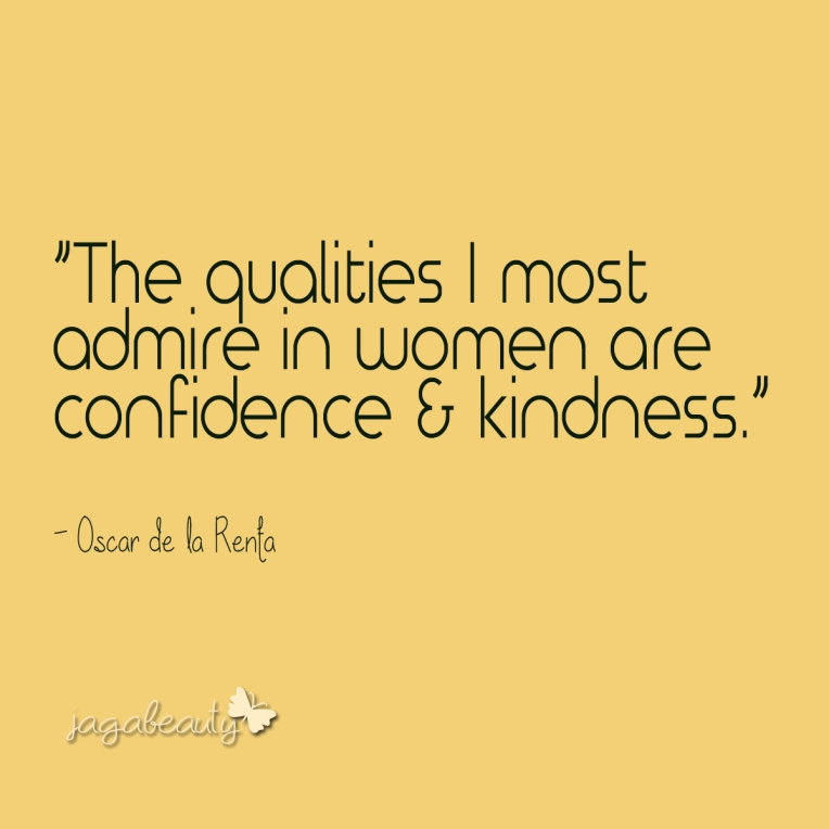 Confidence & Kindness