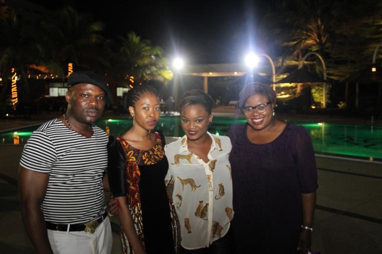 L-R Mr Ugo, Mamza of Mamza Beauty, Jaga and Omolola
