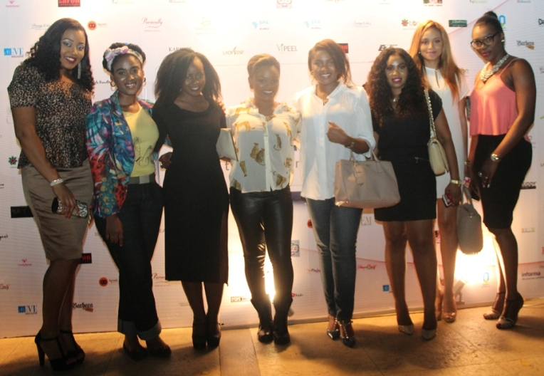 Other beauty Bloggers at the event