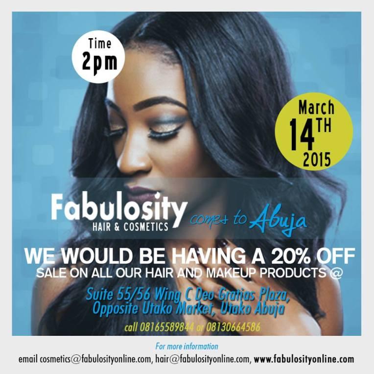 Fabulosity Cosmetics in Abuja