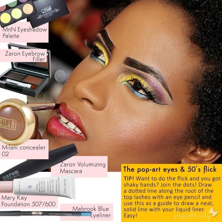 Jagabeauty-Pop-Art-50s-Makeup-Inspiration