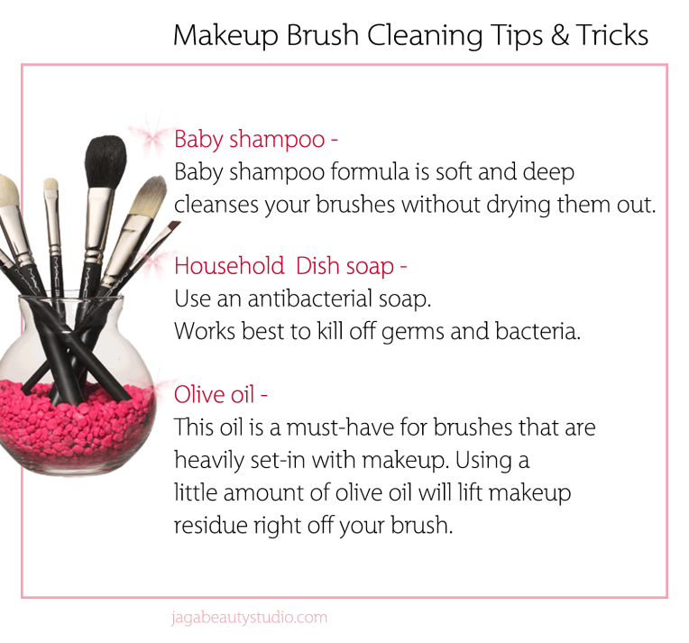 how to clean makeup brushes with baby shampoo. makeup tips \u0026tricks | cleaning your brushes with traditional household items how to clean baby shampoo