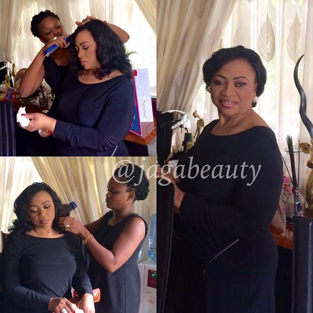 Mrs Folorunsho Alakija_Richest Woman in Africa_Makeup by Jagabeauty