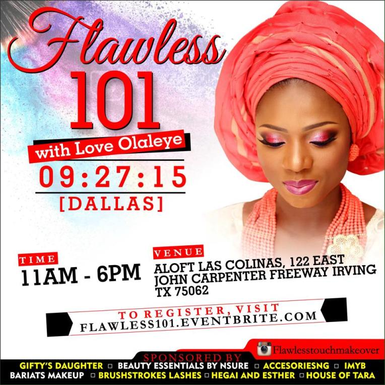 Dallas Makeup Event_Love Olaleye